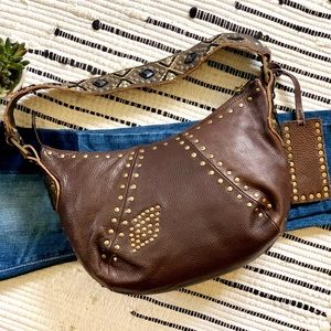 ♓️🅿️Betsey Johnson Boho Leather bag